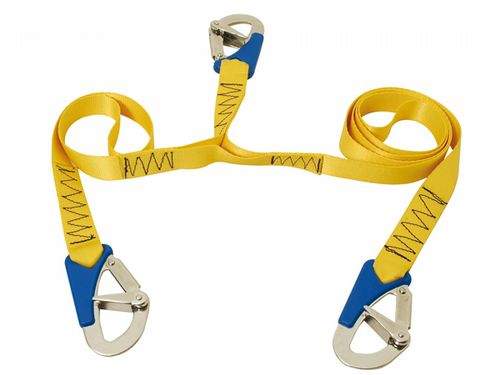 Triple (3) Hook, Boat Safety Line - Deck / Boat / Harness / Cord / Lifejacket / Yacht